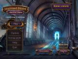 Haunted Hotel: Ancient Bane (Collector's Edition) Windows Title and main menu
