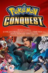 Pokémon Conquest Nintendo DS Title screen