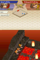 Pokémon Conquest Nintendo DS This terrain can be used by certain types of monster better than others.