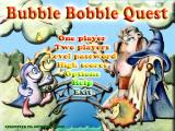 Bubble Bobble Quest Windows Main menu
