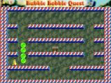 Bubble Bobble Quest Windows Blow bubbles on the enemies.