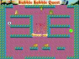 Bubble Bobble Quest Windows The bubble earthquake sweeps all the enemies.