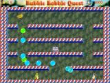 Bubble Bobble Quest Windows Start of a game with two players: each player has different bubble colours.