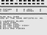 Test Your Knowledge of Pop Music ZX81 Question 4.