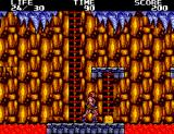 Danan the Jungle Fighter SEGA Master System Get a yellow chest for some goodies