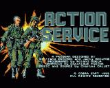 Combat Course Amiga Title Screen