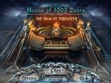 House of 1000 Doors: The Palm of Zoroaster Windows Title and main menu
