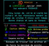3D Fongus Oric Title + instructions