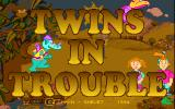 Twins in Trouble DOS Title screen