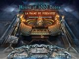 House of 1000 Doors: The Palm of Zoroaster (Collector's Edition) Windows Title and main menu (French)