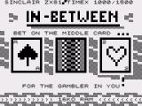 In-Between ZX81 Title screen (English)
