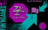Zig Zag Flag Shag DOS Pre-title screen