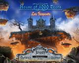 House of 1000 Doors: Serpent Flame Windows Title and main menu (French)
