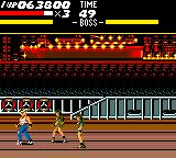 Streets of Rage Game Gear The third bosses