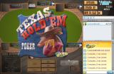 Texas Hold'em Poker Browser Title screen.