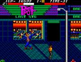 Streets of Rage SEGA Master System The first boss