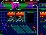 Streets of Rage SEGA Master System Throws a boomerang