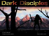 Dark Disciples Windows Main Title - With animated rain falling...