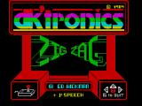 Zig Zag ZX Spectrum Title screen