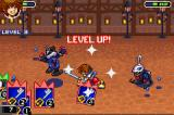 Kingdom Hearts: Chain of Memories Game Boy Advance Level up