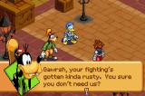 Kingdom Hearts: Chain of Memories Game Boy Advance good friend goofy