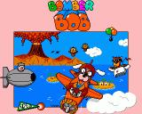 Bomber Bob Amiga Title Screen