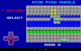 Pico Pico Puzzle Android Push blue spheres into the river to create walkable floor