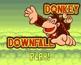 Donkey Downfall Amiga Title screen