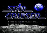 Star Cruiser Genesis Title screen