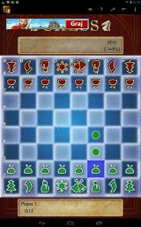 Chess Android There are even Christmas-themed graphic sets. Here, another option has been chosen, which makes the opponent's pieces seem upside-down to us