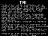 Tai ZX81 Title Screen.