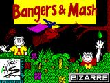 Bangers & Mash ZX Spectrum Loading Screen