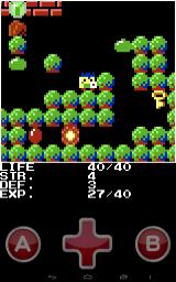 The legend of PicoHERO Android Found a key, and one of the jewels in a forest, but it's inaccessible.