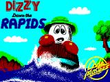 Dizzy: Down the Rapids ZX Spectrum Loading Screen