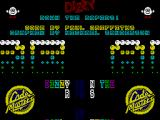 Dizzy: Down the Rapids ZX Spectrum Title Screen