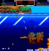 The Deep Arcade Drop your depth charges