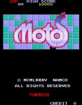 Motos Arcade Title Screen