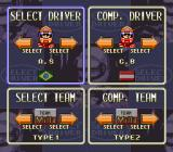 "Battle Grand Prix SNES Driver Selection (Expert ""F1"" mode). Ayrton Senna, of course."