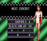 "Battle Grand Prix SNES São Paulo, BLazilian GP. No worries, the North American version has ""Brazilian""."