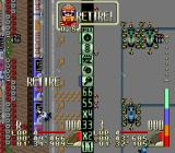Battle Grand Prix SNES Retire. While the main rival stopped in the pits.