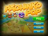 Pachinko Pop Windows Title and main menu