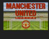 Manchester United Europe Amiga Title screen