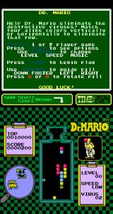 Dr. Mario Arcade About to remove some pills