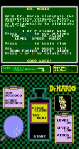 Dr. Mario Arcade Well done