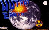 Mutant Earth DOS Title screen.