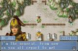 Dynasty Warriors Advance Game Boy Advance He Jin