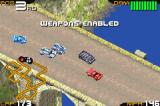 Racing Gears Advance Game Boy Advance Weapons enabled