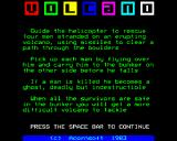 Volcano BBC Micro Title + instructions, pt 1