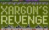 Xargon's Revenge Commodore 16, Plus/4 Title Screen