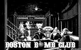 Boston Bomb Club Atari ST Menu (monochrome monitor)